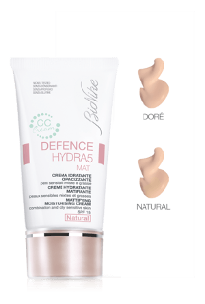 DEFENCE HYDRA5 MAT CC CREAM NATURALE 40 ML