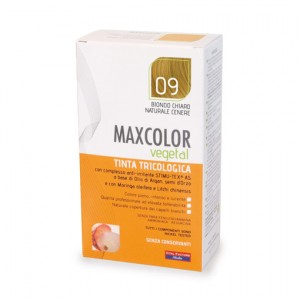 MAX COLOR VEGETAL 09 BIONDO CHIARO NATURALE CENERE 140 ML