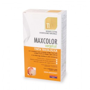 MAX COLOR VEGETAL 11 BIONDO EXTRA CHIARO NATURALE 140 ML