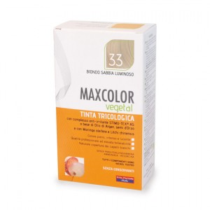 MAX COLOR VEGETAL 33 BIONDO SABBIA LUMINOSO 140 ML