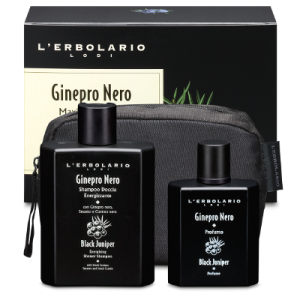 L'ERBOLARIO GINEPRO NERO MAXI BEAUTY-SET