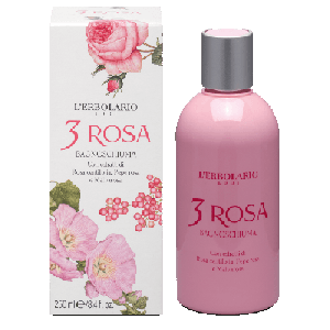 L'ERBOLARIO 3 ROSA BAGNOSCHIUMA 250 ML
