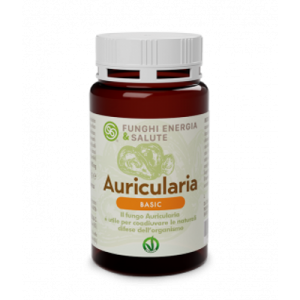 FUNGHI ENERGIA SALUTE AURICULARIA LINEA BASIC 120 CPR