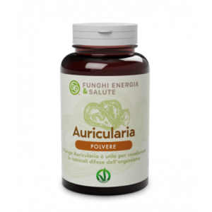 FUNGHI ENERGIA SALUTE AURICULARIA POLVERE 100 GR