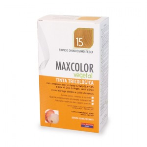 MAX COLOR VEGETAL 15 BIONDO CHIARISSIMO PESCA 140 ML