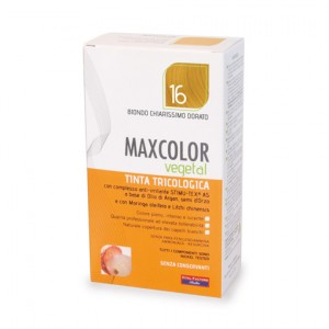 MAX COLOR VEGETAL 16 BIONDO CHIARISSIMO DORATO 140 ML
